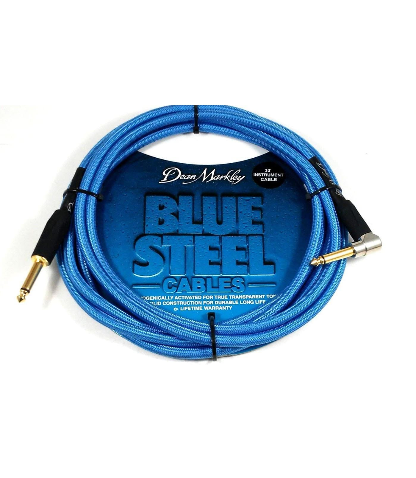 Buy dean markley - BSIN20R20 Ft Instrument Cable Blue Woven