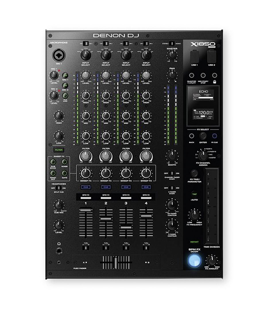 Denon DJ - X 1850 4 Channel DJ Mixer