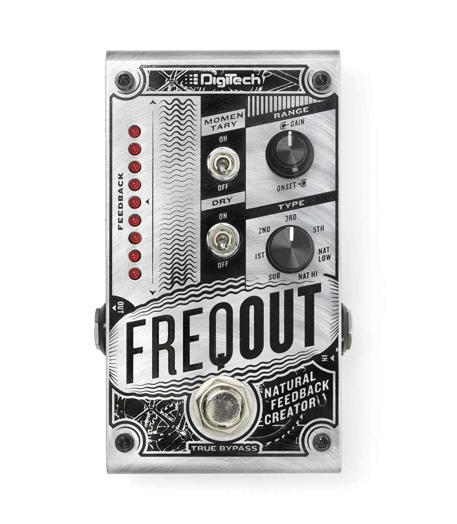 Digitech - FREQOUT V 00 Natural Feedback Creator - Melody House Musical Instruments