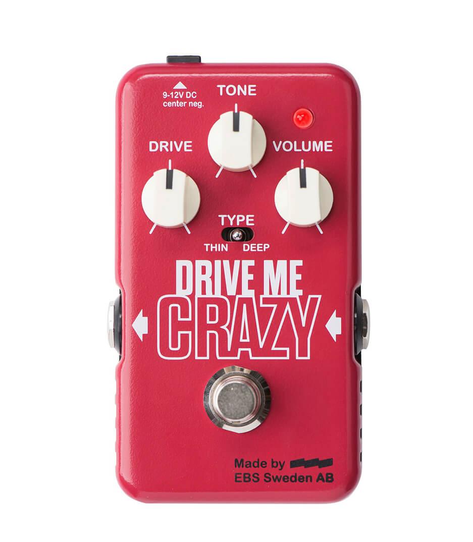 EBS - 42210EBS EBS DMC Drive Me Crazy pedal