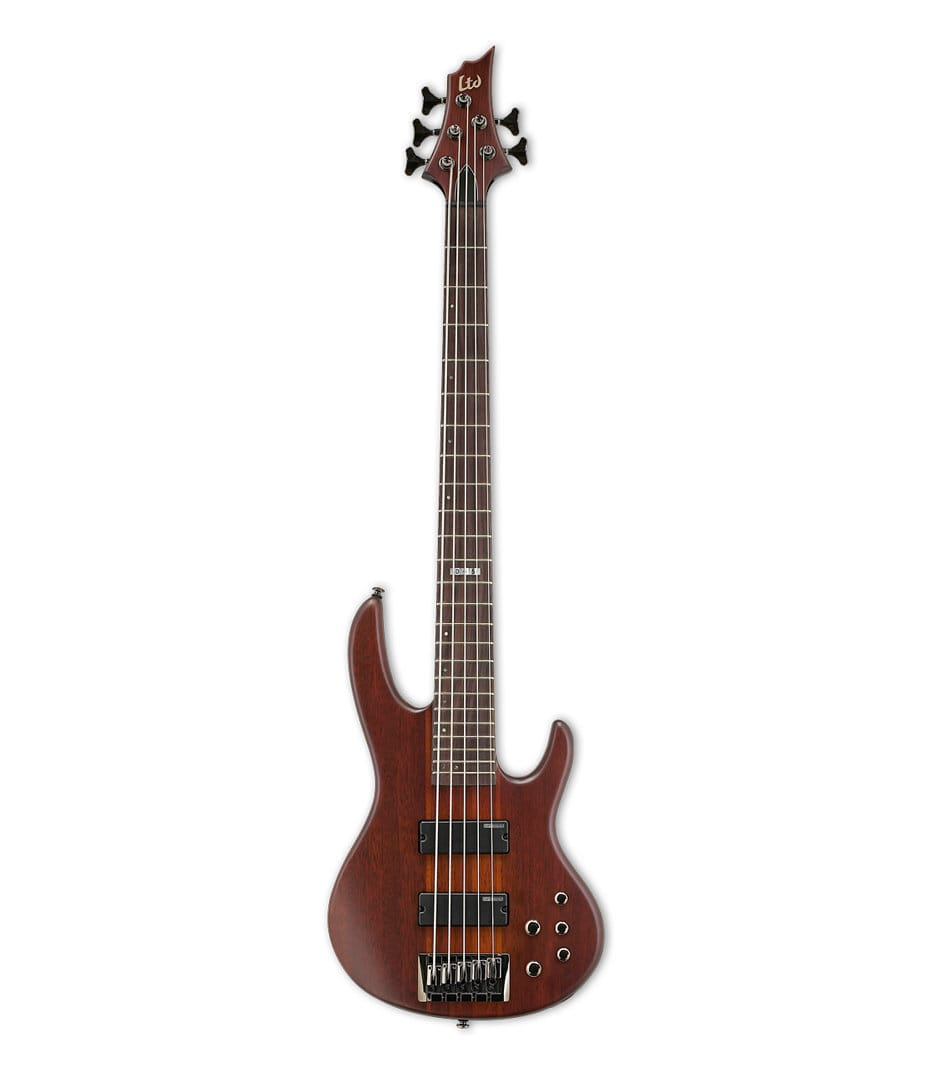 Buy esp LTD D5 Series 5 String Bass Natural Satin Finish Melody House
