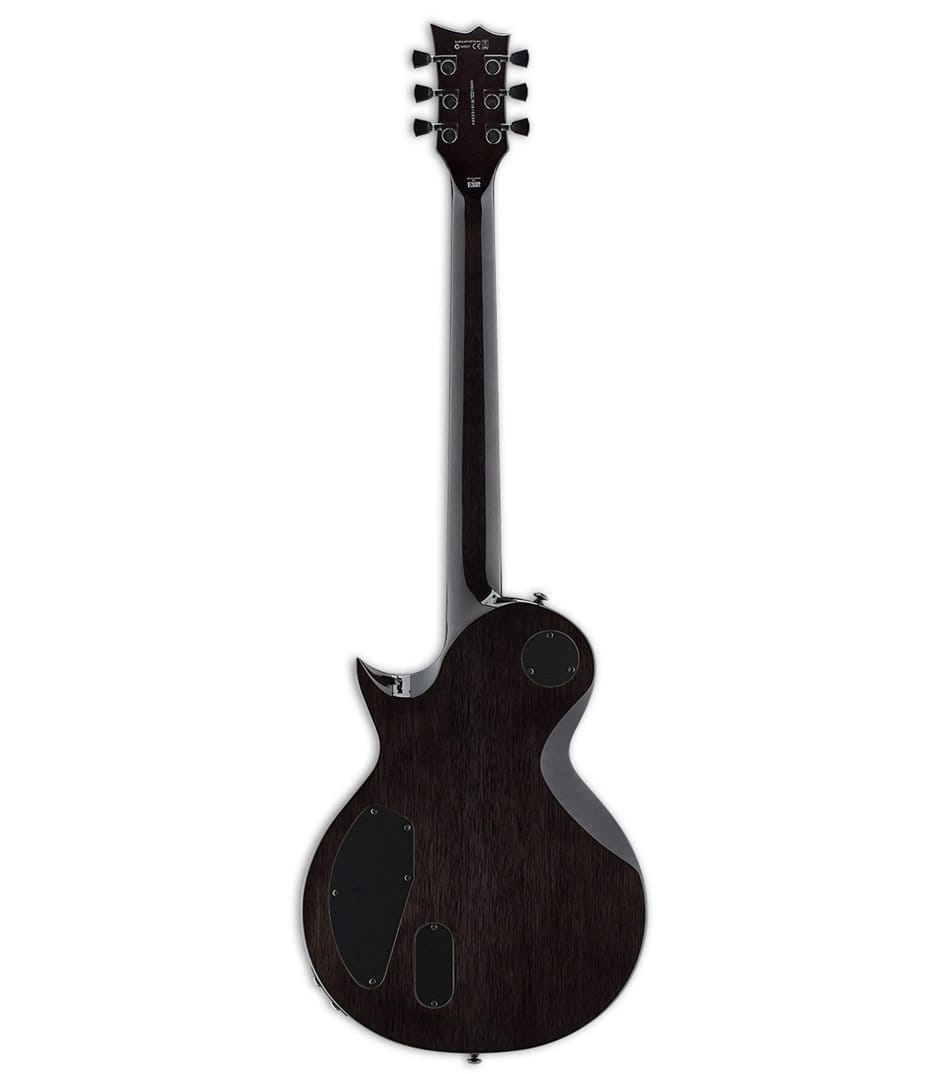 Melody House Musical Instruments Store - LTD Eclipse 1000 Piezo Quilted Maple SeeThru Black