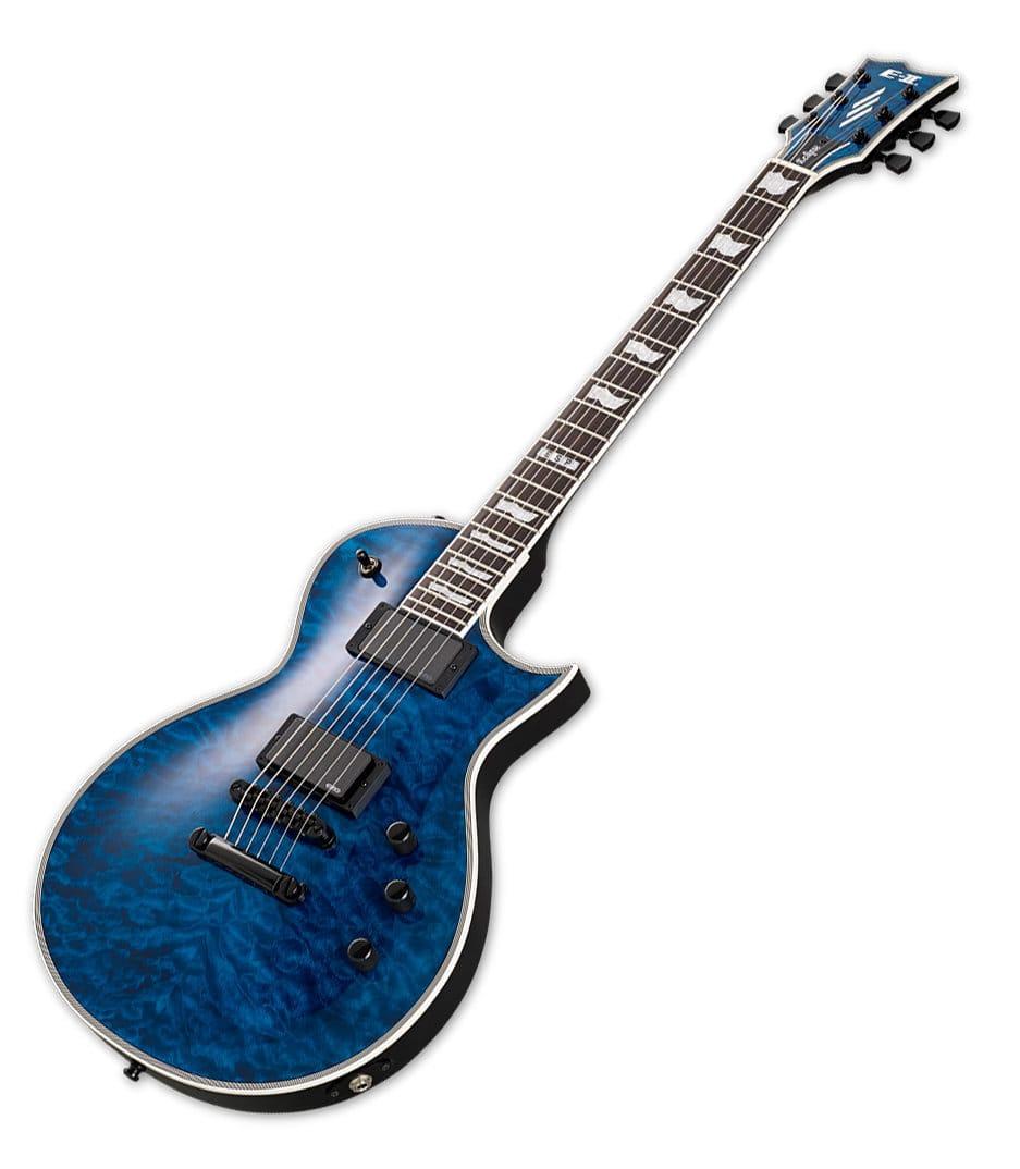 buy esp electric guitars e ii eclipse qm electric guitar marine blue online at best price in. Black Bedroom Furniture Sets. Home Design Ideas