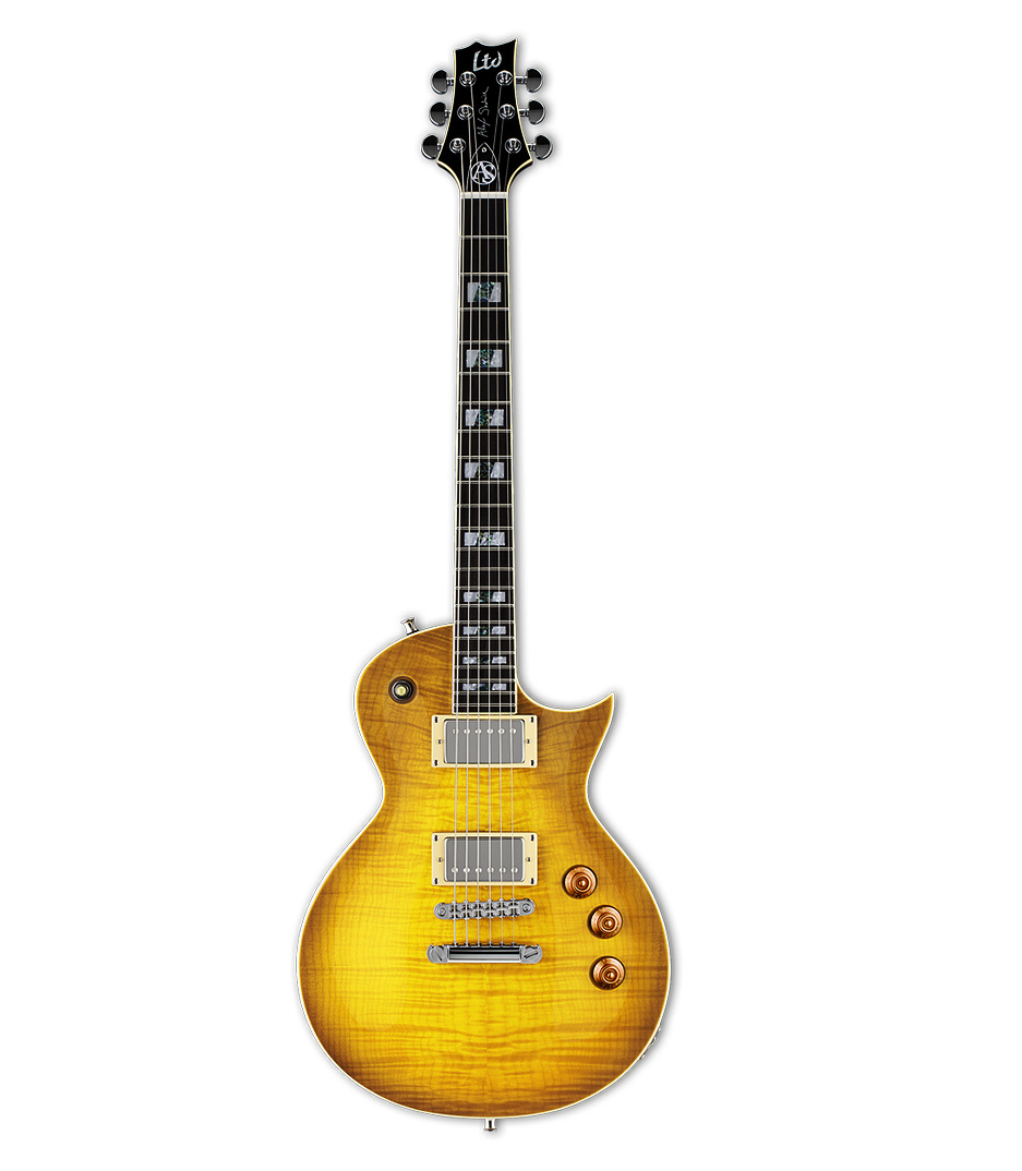 buy esp ltd alex skolnick flammed maple lemon burst