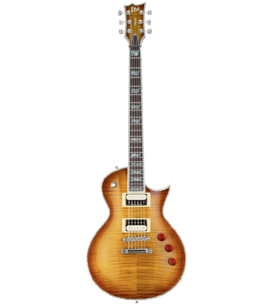 buy esp ltd eclipse 1000 series amber sunburst finish