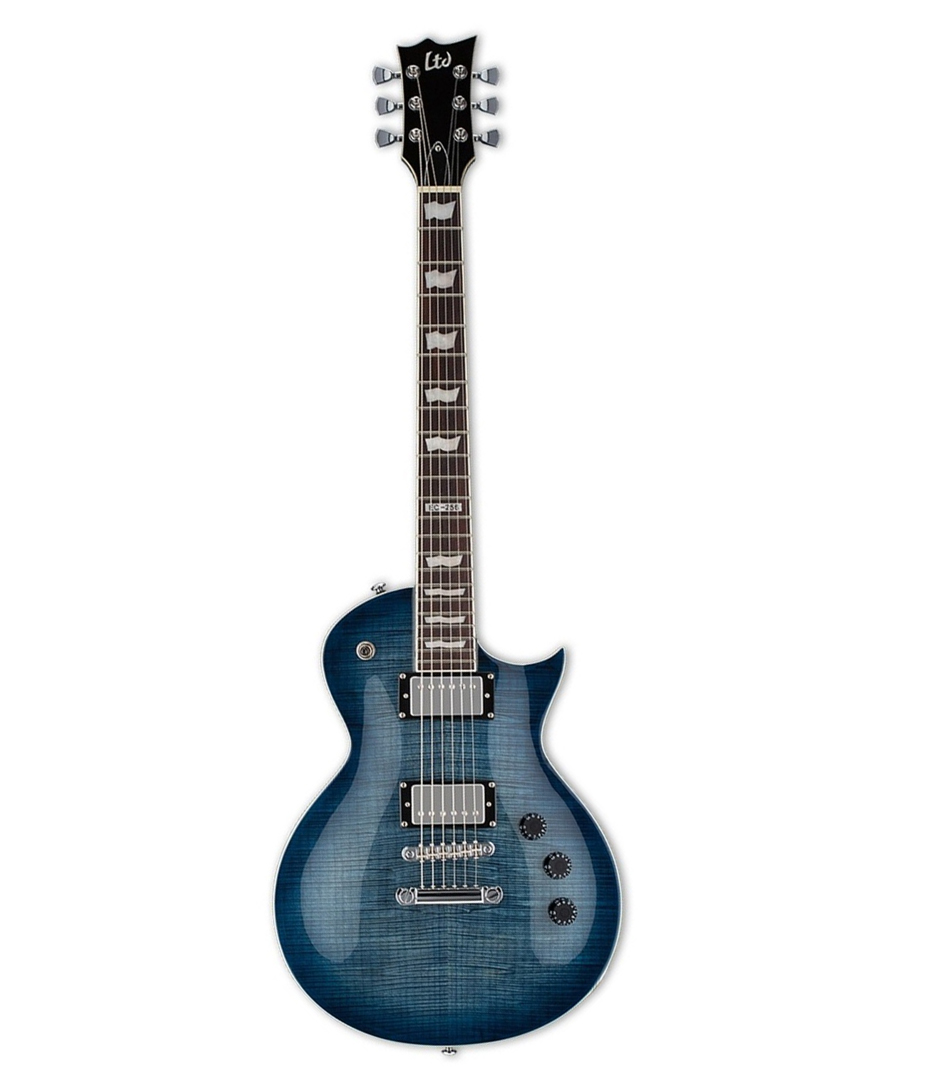 buy esp ltd eclipse 256 series cobalt blue finish