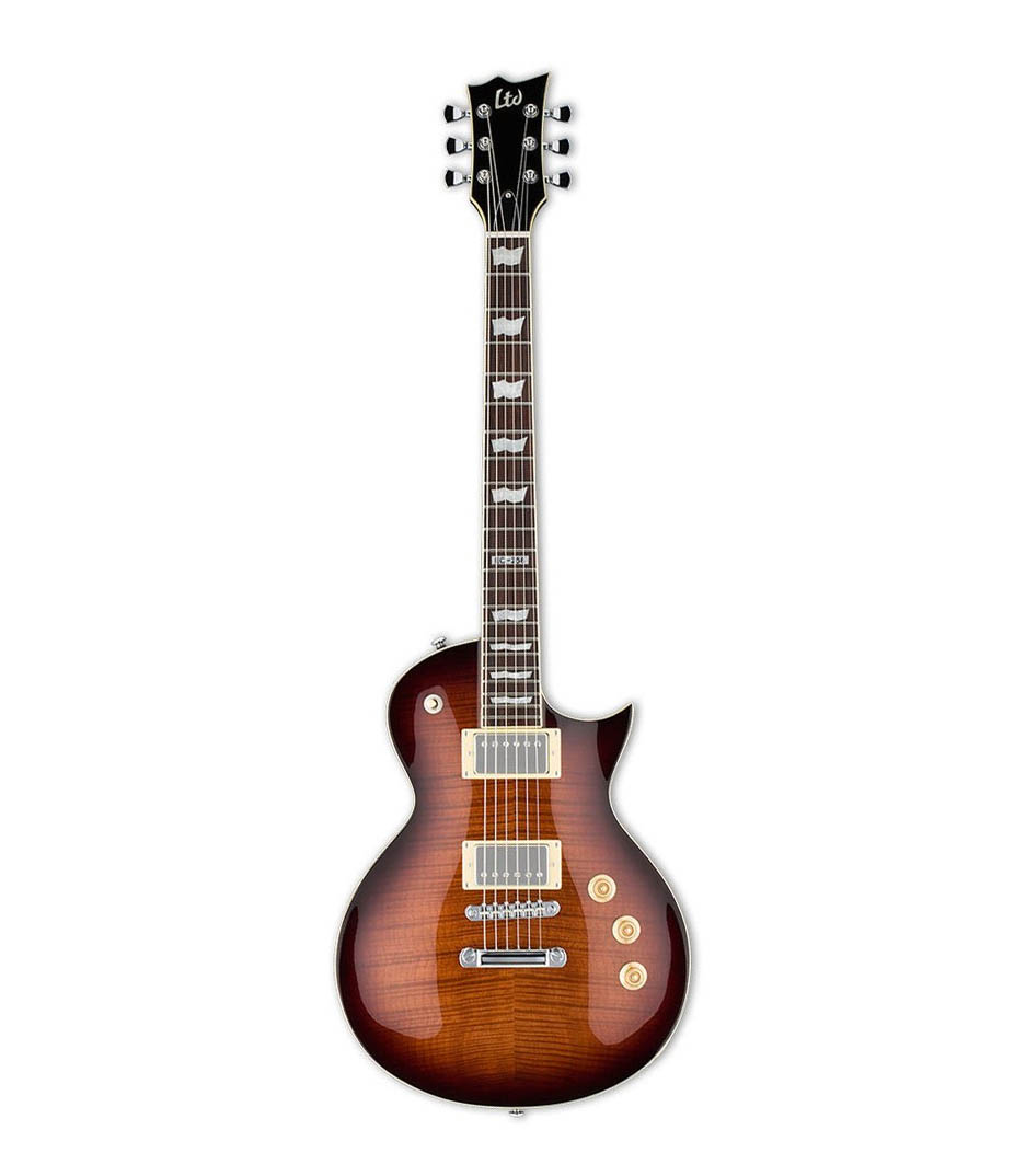 buy esp ltd eclipse256 series dark brown sunburst finish