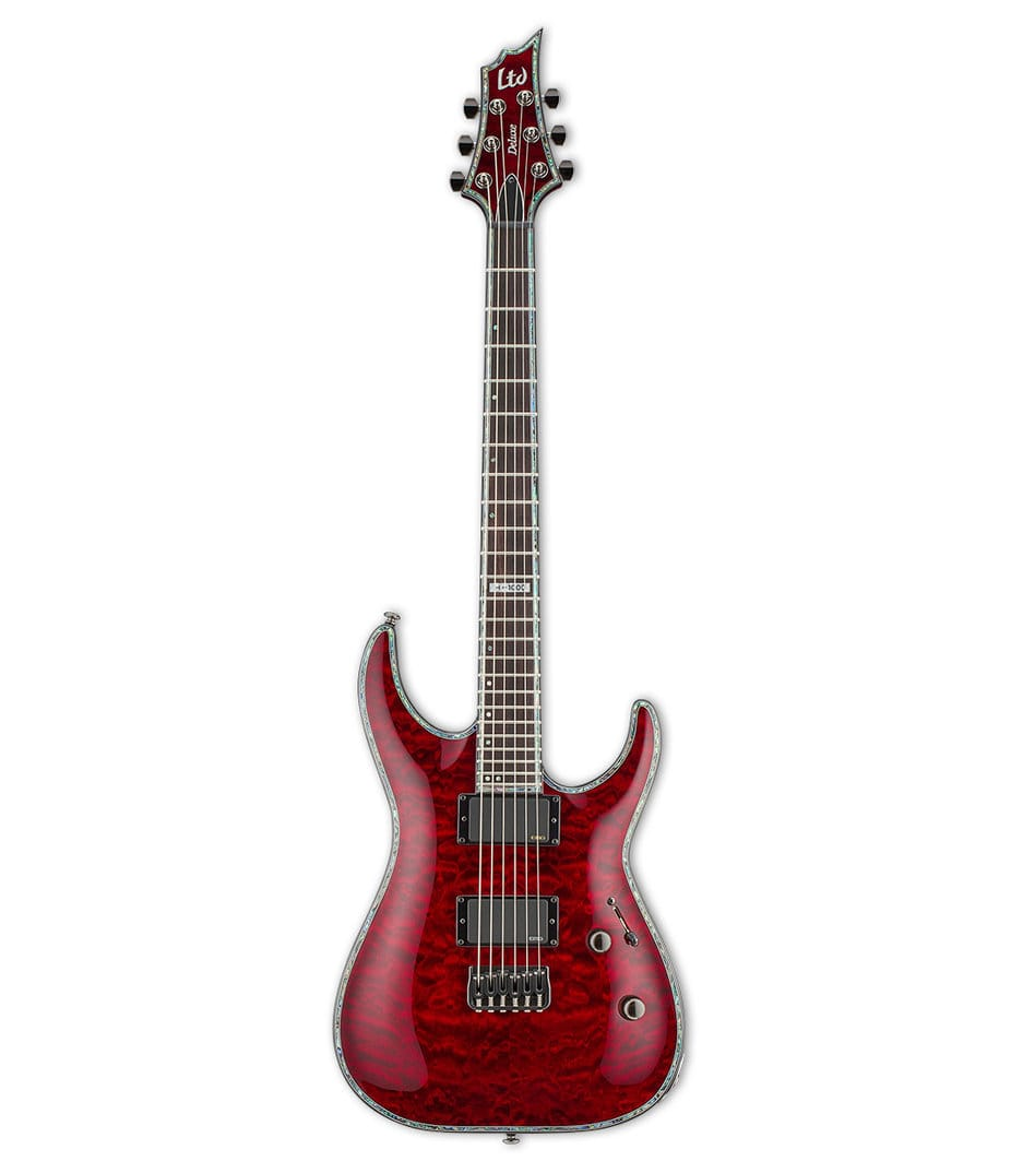 Buy ESP LTD H1000 Quilted Maple See Thru Black Cherry Melody House