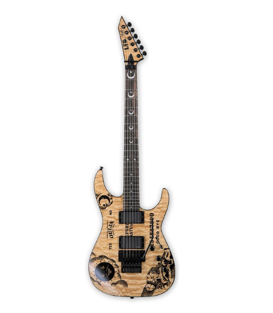 Buy ESP LTD Kirk Hammet Ouija Natural Gloss Top Melody House
