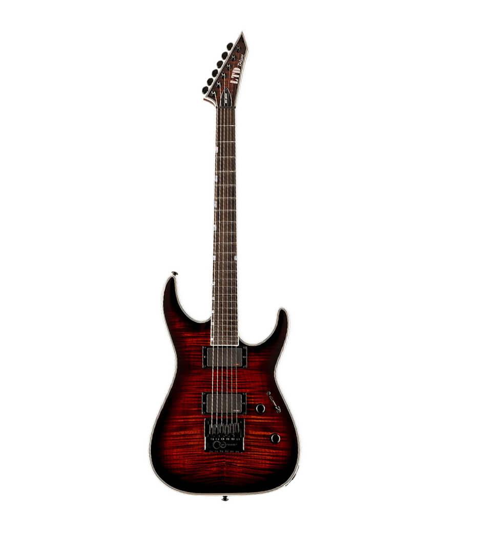 buy esp lmh1000etfmdbsb ltd mh 1000 evertune guitar flamed