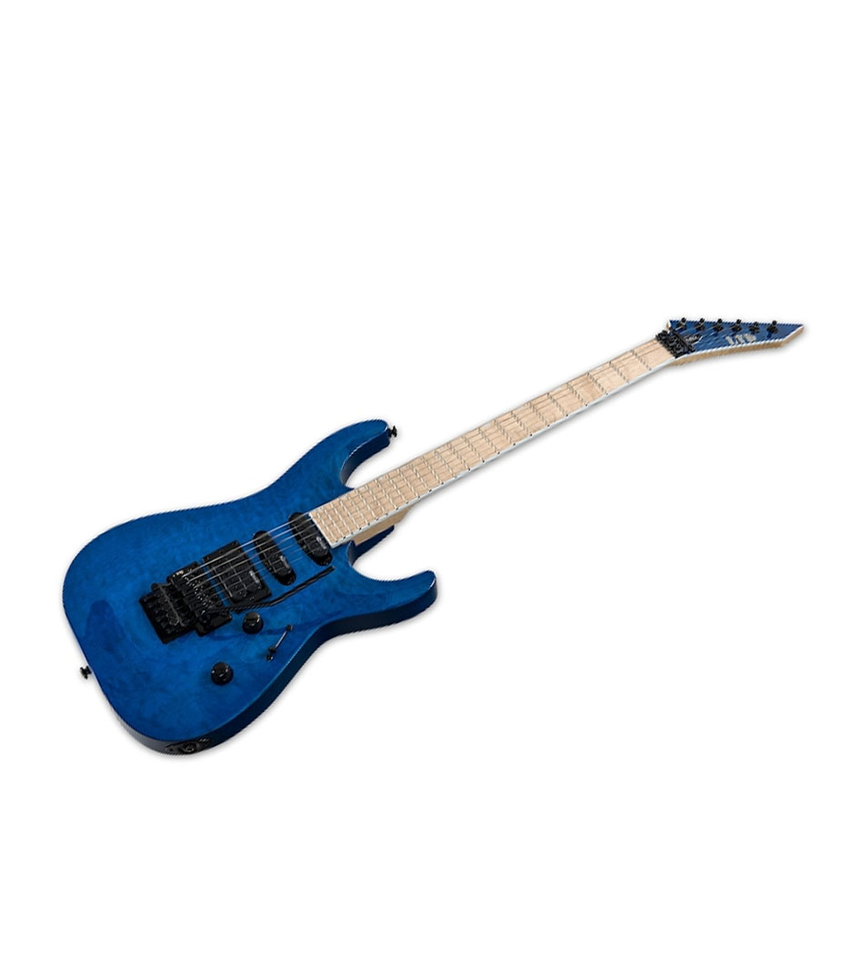ESP - LTD MH203 Series Quilted Maple SeeThru Blue Finish - Melody House