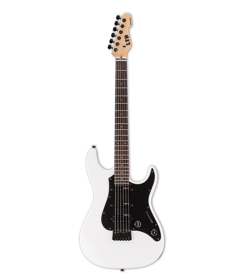 buy esp ltd sn200 series hardtail rosewood fret snow white