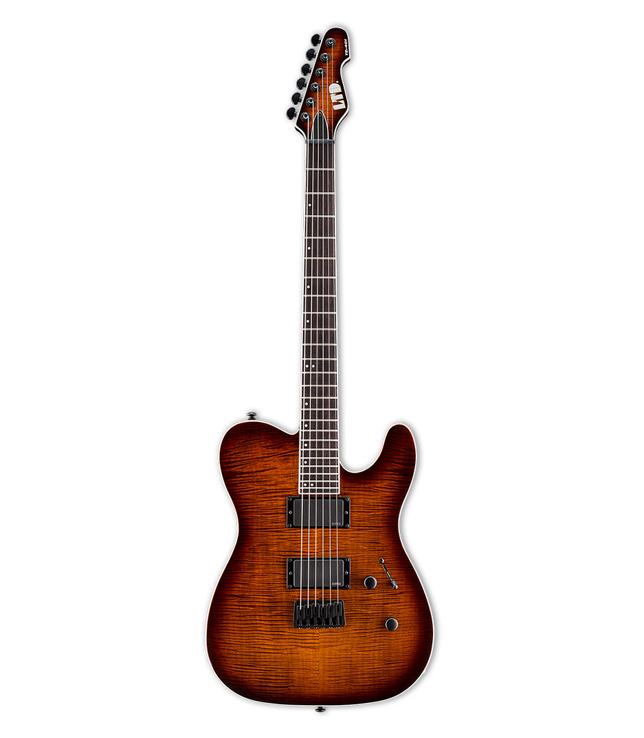 Buy esp LTD TE401 Flammed Maple Dark Brown Sunburst Melody House
