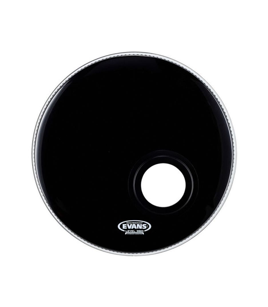 buy evans bd18remad evans 18 black base drum head