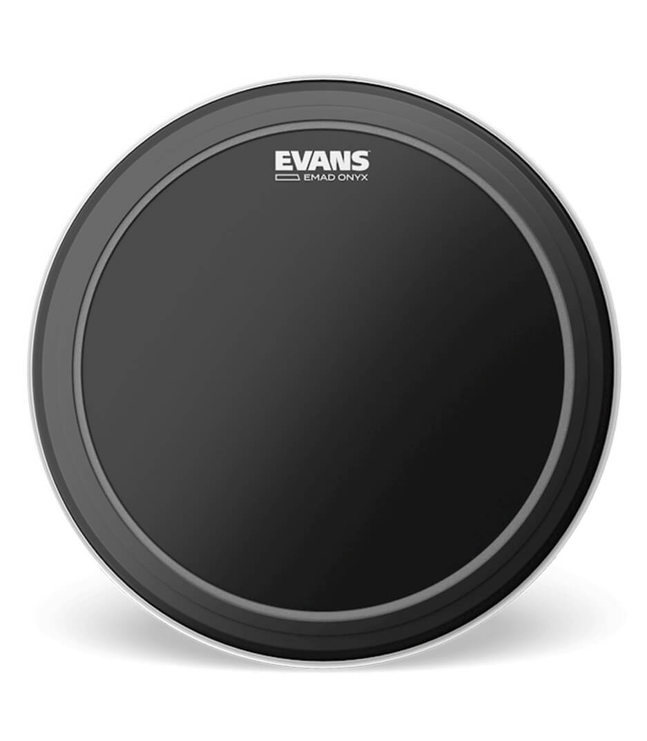 Evans - BD22EMADONX BASS DRUMHEAD EMAD ONYX BATTER 1 PLAY