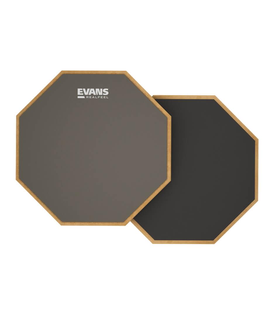 buy evans rf12d practice pad mountable double sided realfeel