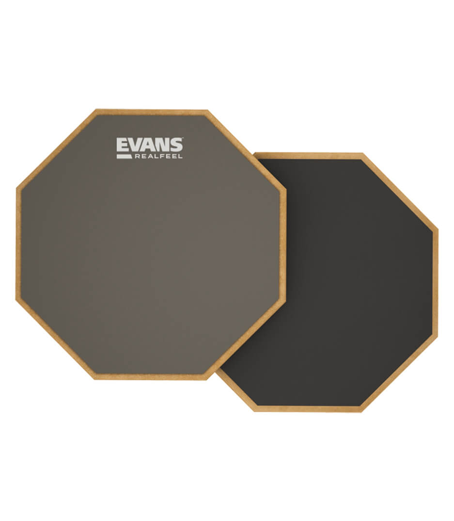 Evans - RF6D PRACTICE PAD REALFEEL TWO SIDED 6
