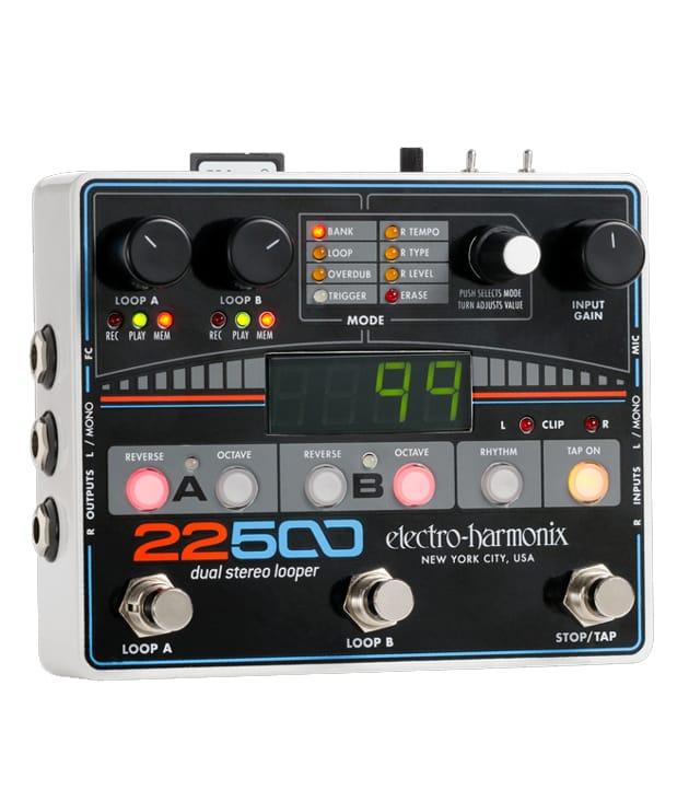 Buy Electro Harmonix 22500 Dual Stereo Looper Pedal Melody House