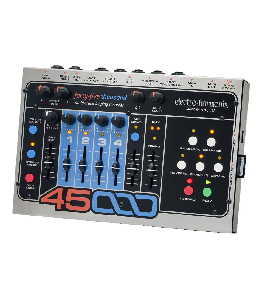 Buy electro harmonix 45000 Multi Track Looping Recorder Melody House