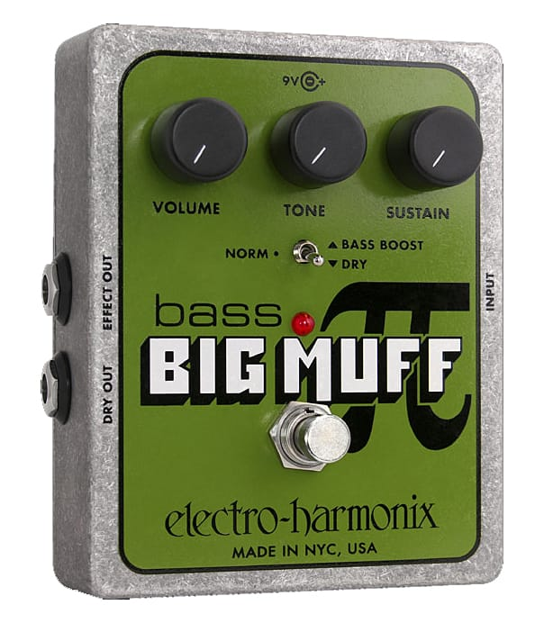 buy electroharmonix bass big muff pi bass fuzz pedal