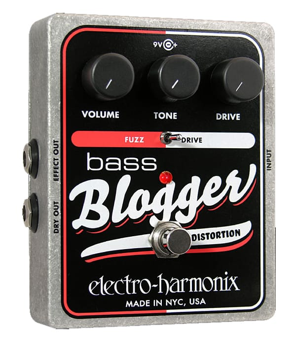 buy electroharmonix bass blogger bass overdrive pedal