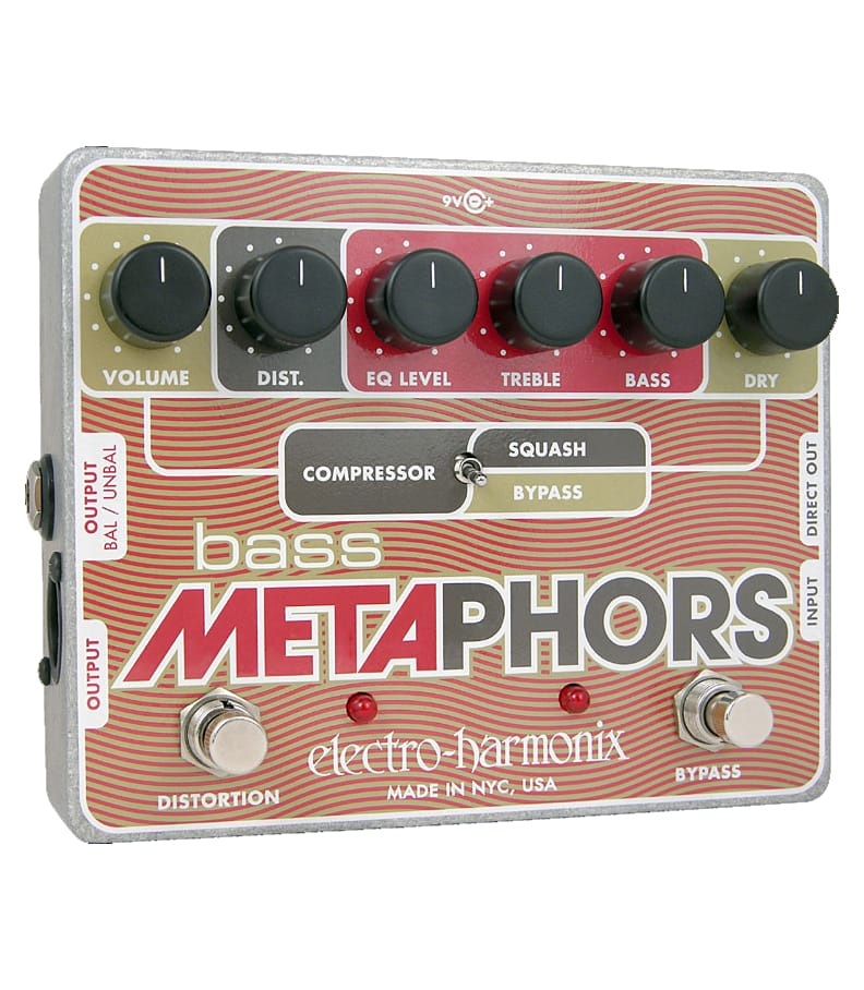 Buy electro harmonix Bass Metaphors Bass Distortion Compress Pedal Melody House