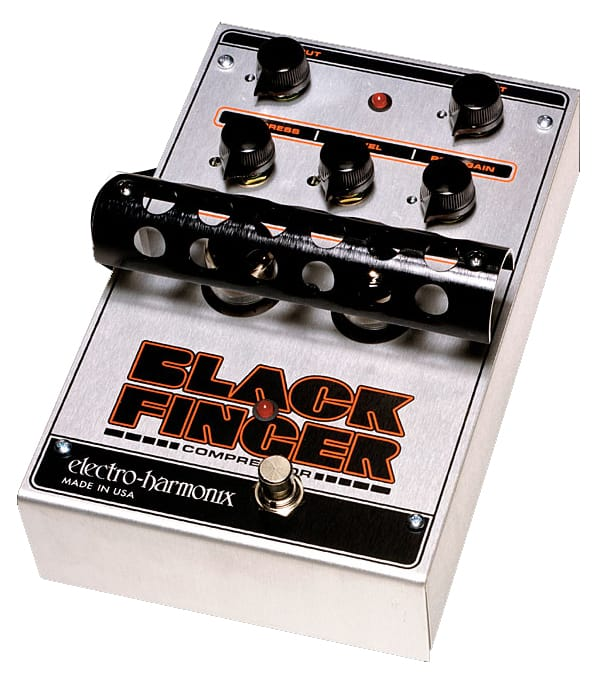 buy electroharmonix black finger tube compressor pedal