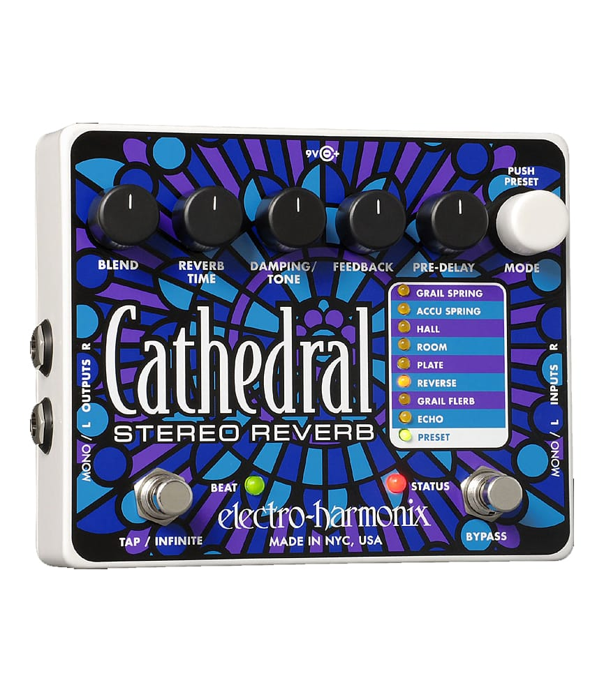 Buy Electro Harmonix Cathedral Stereo Reverb Pedal Melody House