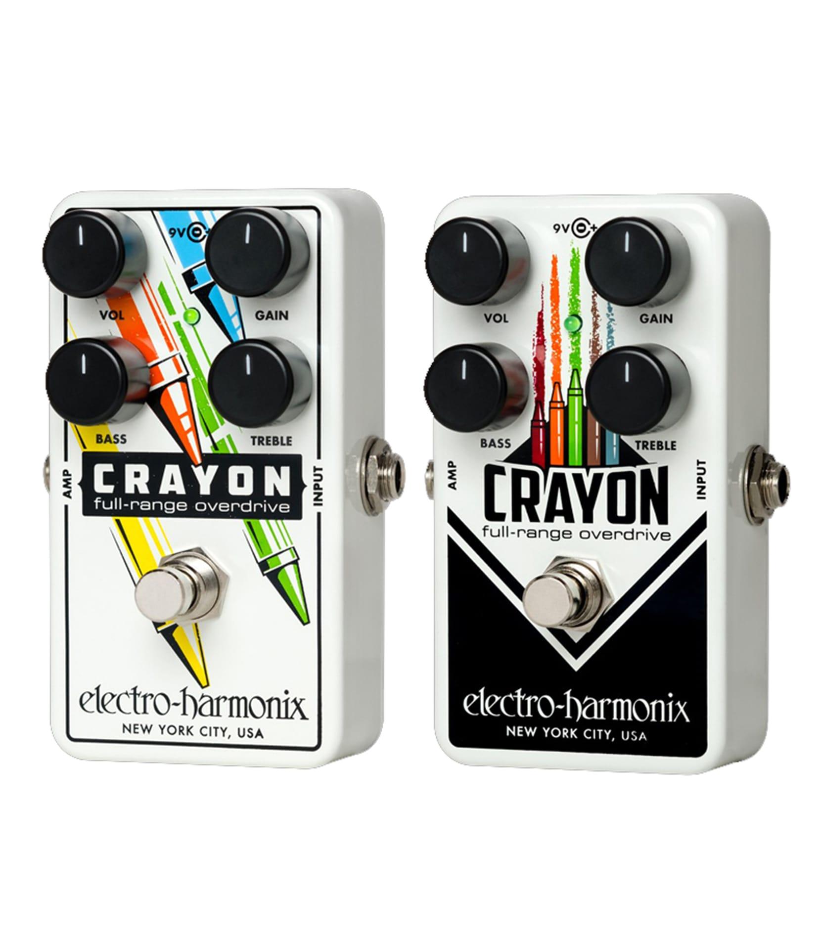 buy electroharmonix crayon69 full range overdrive pedal