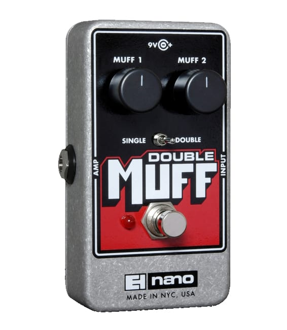Buy electro harmonix Double Muff Fuzz Overdrive Pedal Melody House