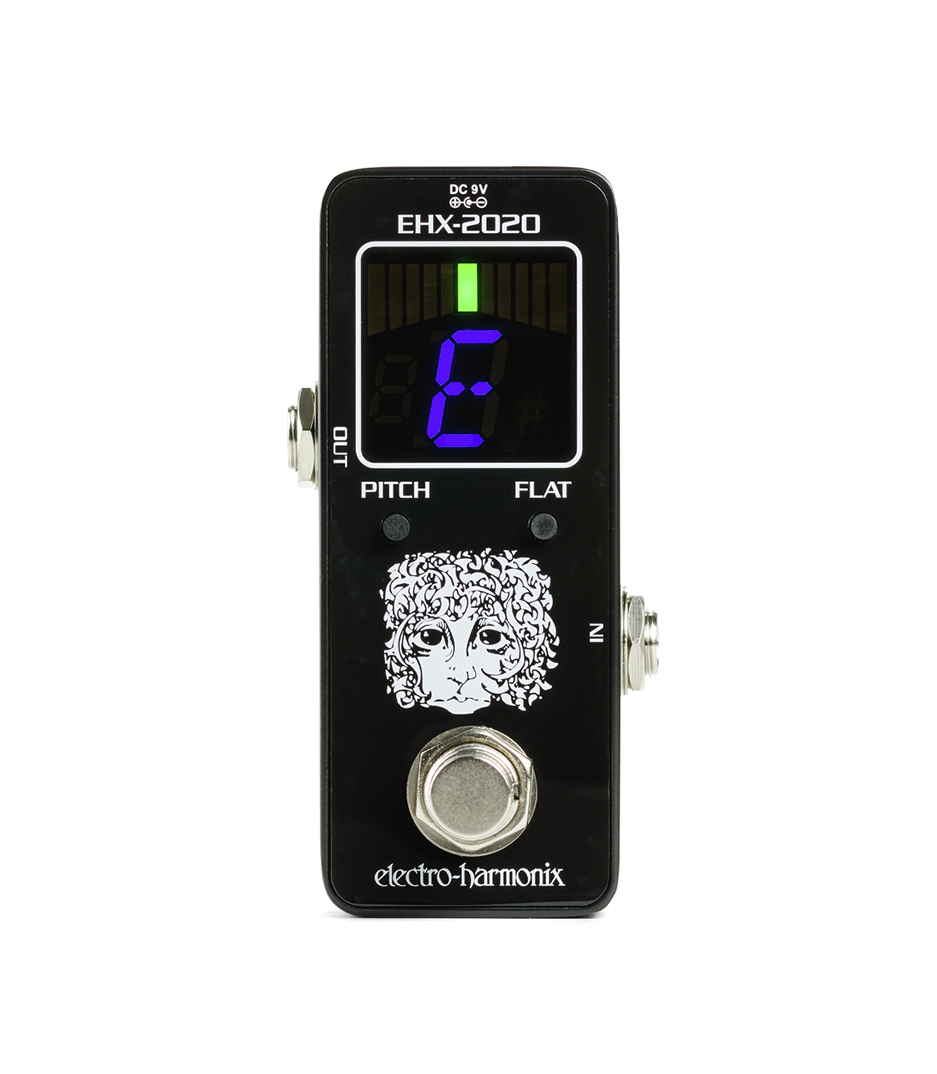 buy electroharmonix ehx 2020 tuner chromatic tuner pedal for guitar b