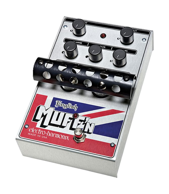 buy electroharmonix english muffn tube distortion pedal
