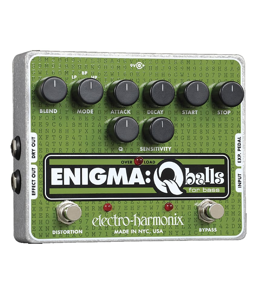 Buy electro harmonix Enigma Q Balls for Bass Guitar Filter Pedal Melody House