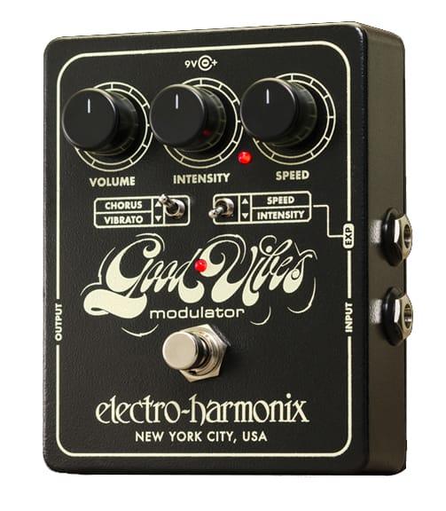 buy electroharmonix good vibes analog modulator pedal