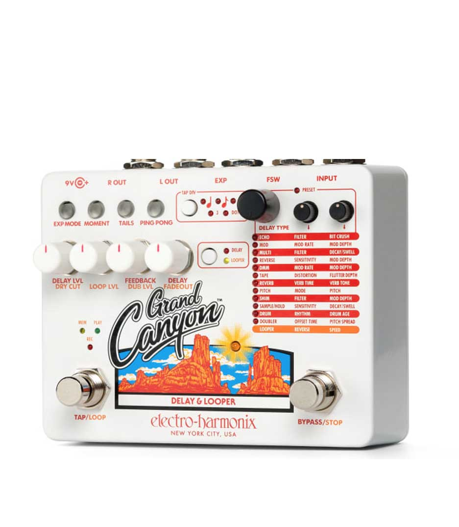 Electro Harmonix - Grand Canyon - Melody House Musical Instruments