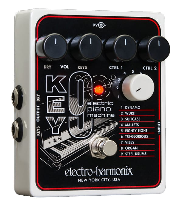 Buy electro harmonix KEY9 Electric Piano Machine Pedal Melody House