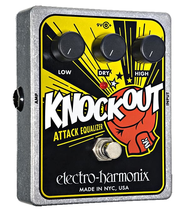 Buy electro harmonix Knockout Attack Equalizer Reissue Pedal Melody House
