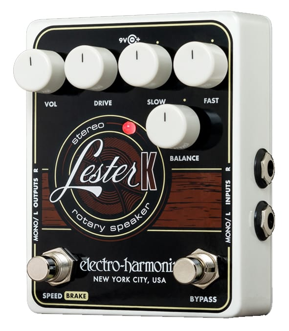 Electro Harmonix - Lester K Stereo Rotary Speaker Pedal - Melody House Musical Instruments