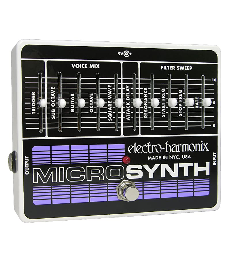 Buy electro harmonix Micro SynthesizerAnalog Guitar Microsynth Pedal Melody House