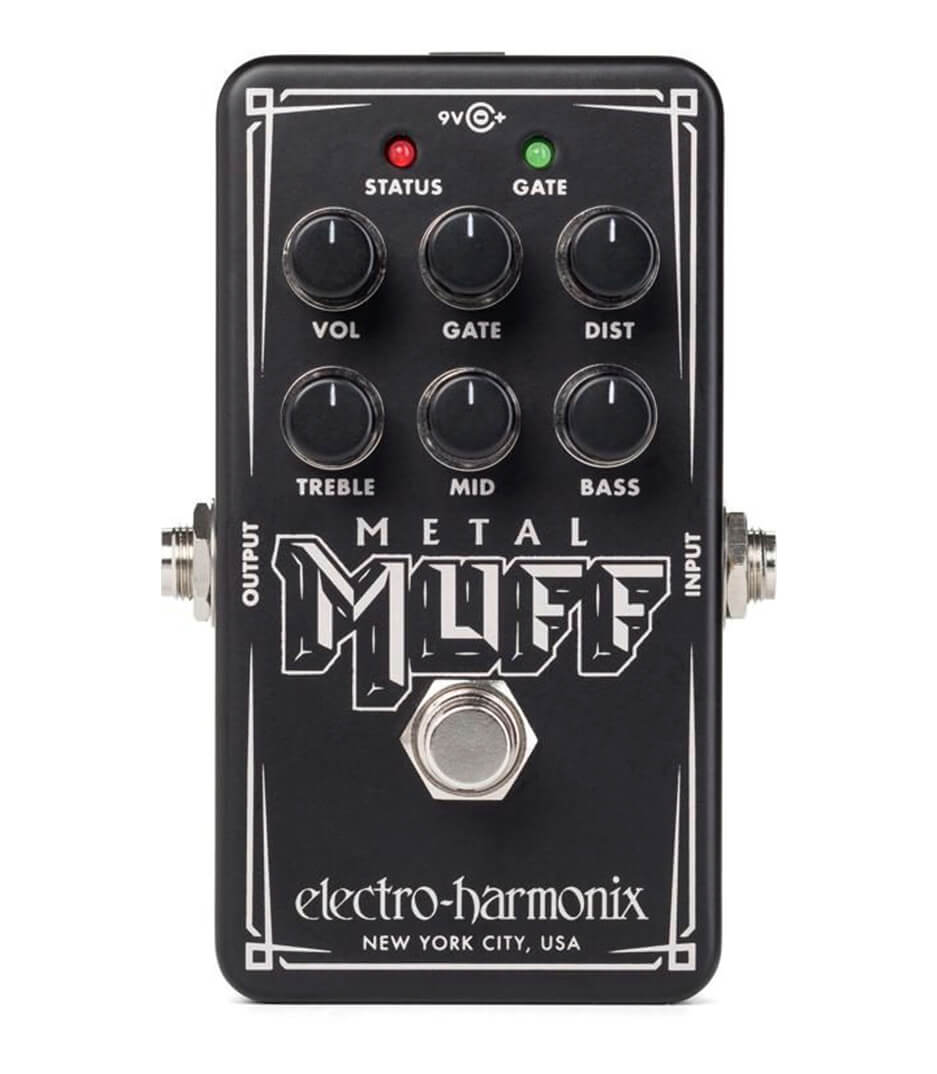 buy electroharmonix nano metal muff distortion with gate