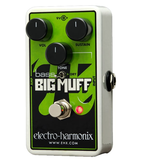 Electro Harmonix - Nano Bass Big Muff Distortion Effects Pedal