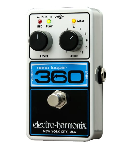 buy electroharmonix nano looper 360 looper pedal