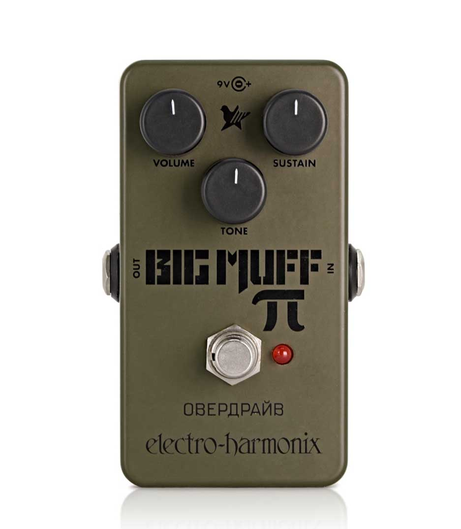 Buy Electro Harmonix - Green Russian Big Muff Distortion Sustainer Pedal
