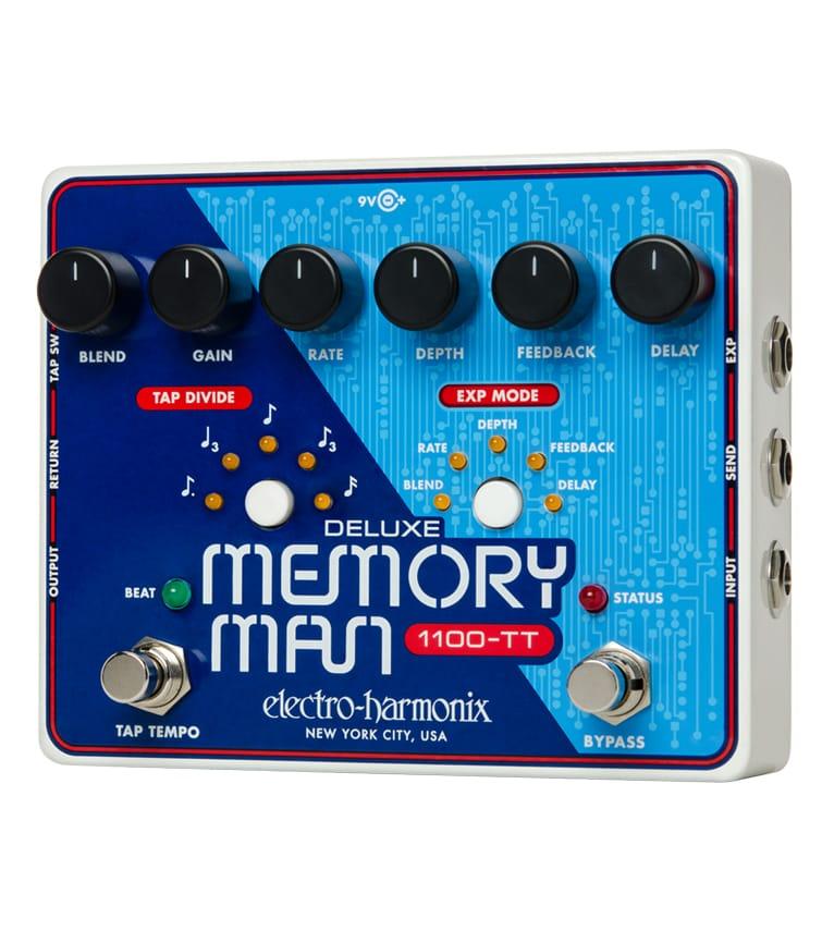 Buy electro harmonix Deluxe Memory Man w Tap Tempo 1100 mS Melody House