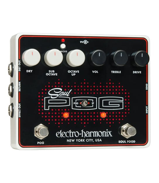 Buy electro harmonix Soul POG Polyphonic Multi effects Pedal Melody House