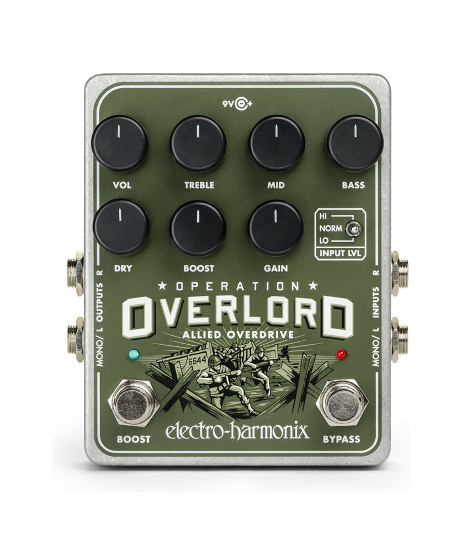 Buy electro harmonix Operation Overlord Allied Overdrive Pedal Melody House