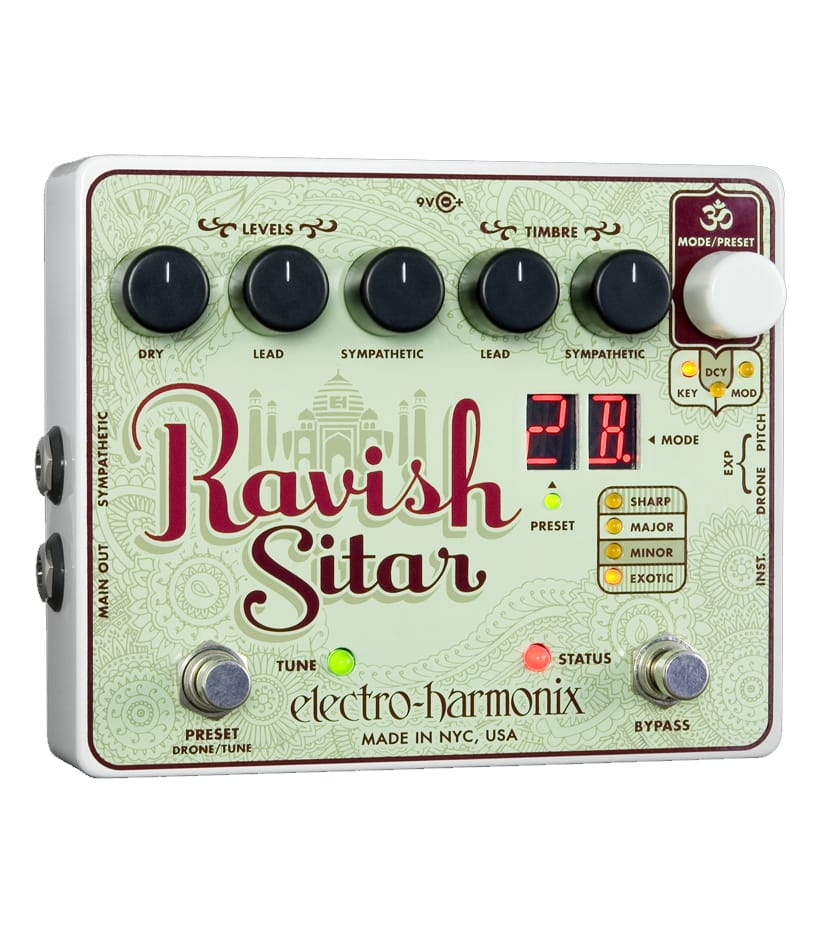 Buy electro harmonix Ravish Sitar Emulation Pedal Melody House
