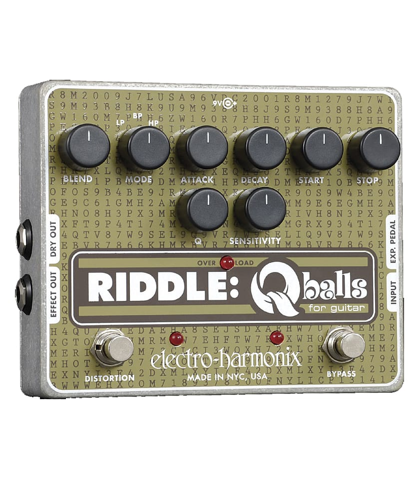 buy electroharmonix riddle q balls envelope filter pedal