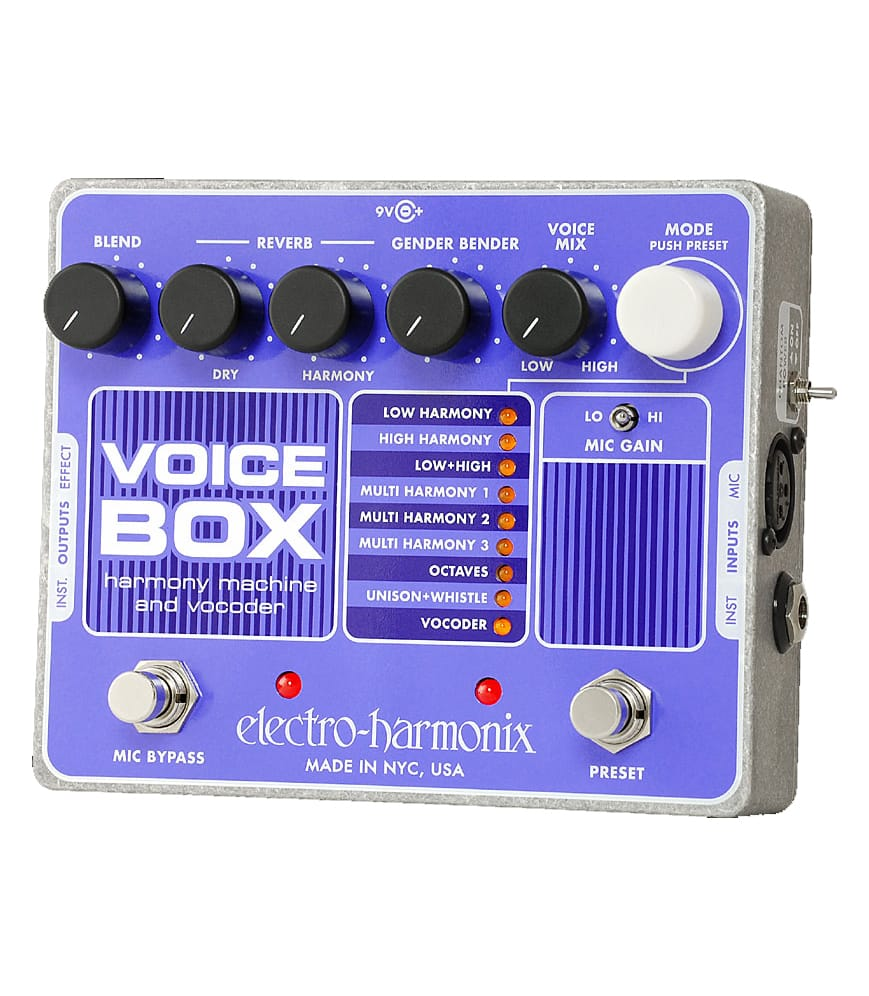 Buy electro harmonix Voice Box Harmony Machine Vocoder Melody House