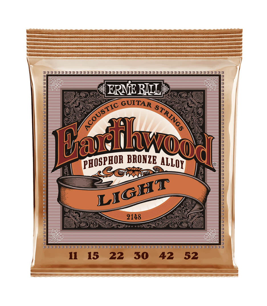 Ernie Ball - 2148 Acoustic Guitar Strings Earthwood Phos phor B